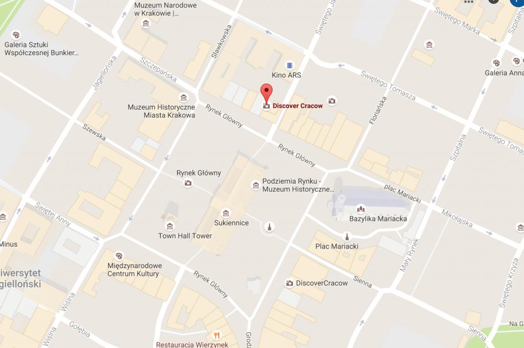 Krakow Information point Jana
