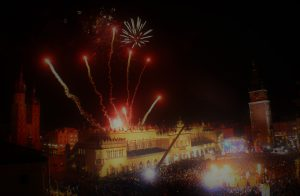 Events in Krakow - Firework