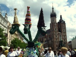 Krakow Dragon Parade Kids 2017