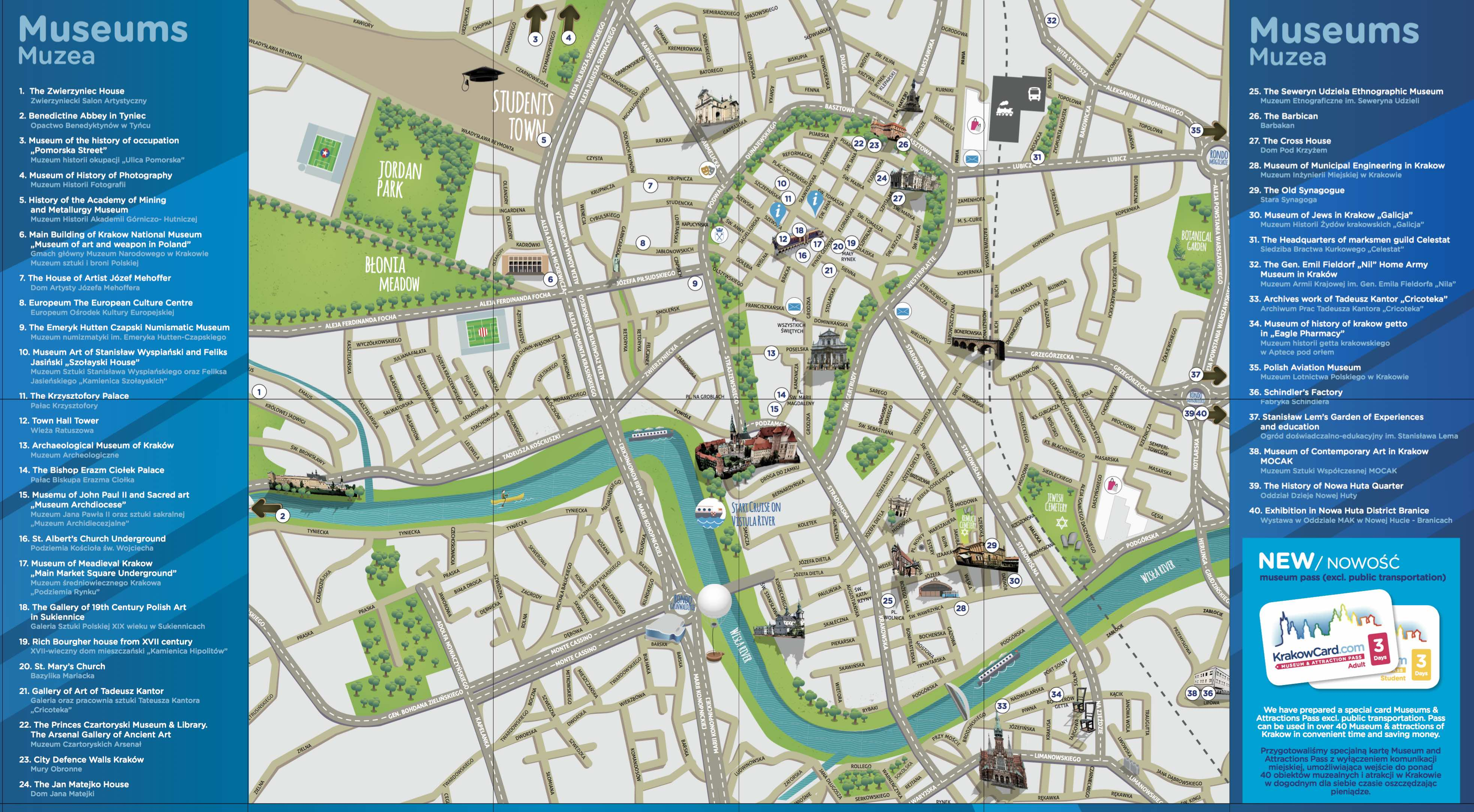 Krakow Map Free Download Get It Now 2018