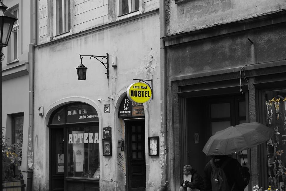 Lost Places Krakow Hostel Pub Gloomy Mysterious