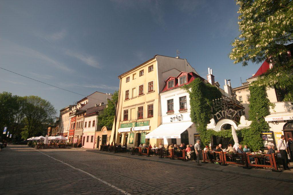 Kraków ulica Szeroka