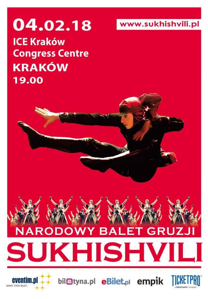 Sukhishvili Georgian National Dance kraków