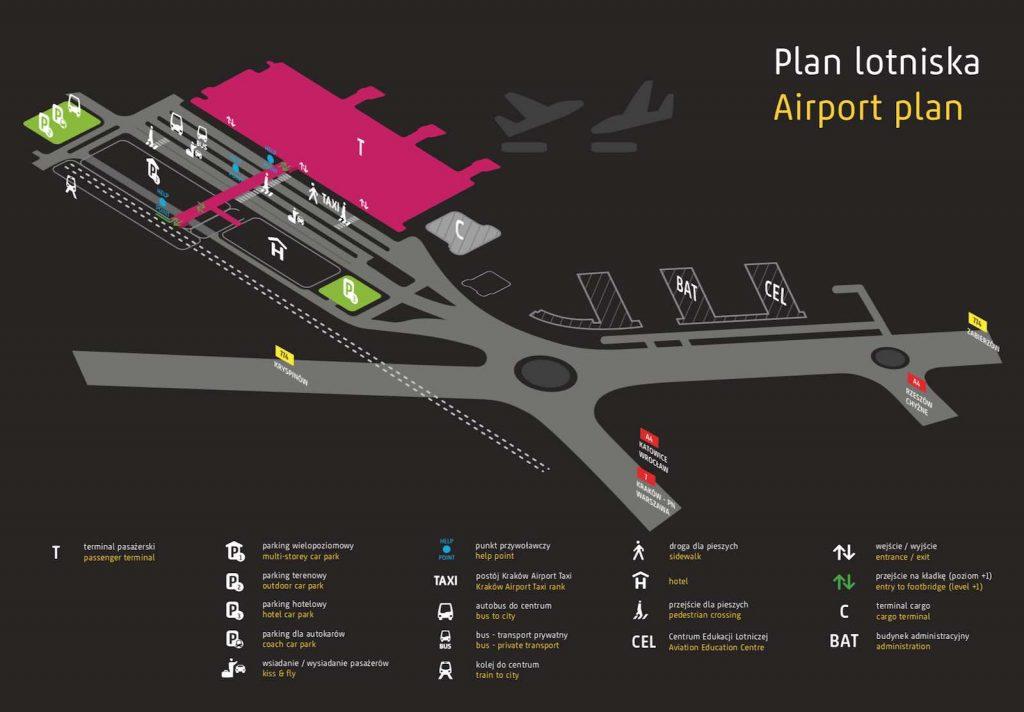 Krakow-Airport-plan