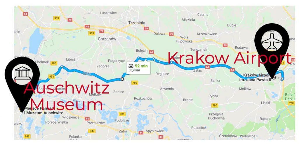 krakow-airport-to-auschwitz
