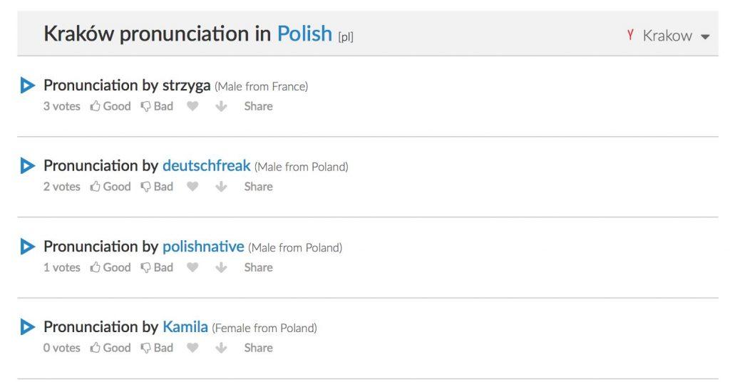 how-to-pronounce-krakow-forvo