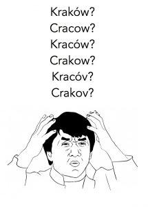 how to pronounce krakow