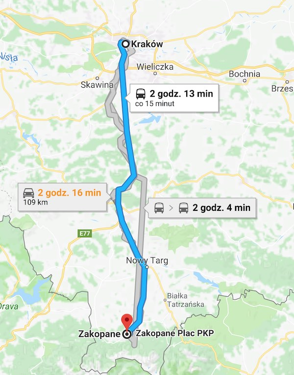 Krakow to Zakopane – How to Get There and So Much MORE on inowroclaw poland map, poland atlas map, zambrow poland map, bialowieza forest poland map, lukow poland map, jaworzno poland map, sobibor poland map, minsk poland map, warsaw poland map, nisko poland map, auschwitz-birkenau concentration camp map, sweden map, cracow poland on a map, belchatow poland map, stawiski poland map, auschwitz poland map, lodz poland map, romania map, mazovia poland map, poland religion map,