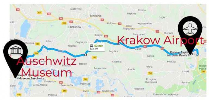 Krakow Airport Map Krakow Airport   Make Sure You Have a Smooth Journey   Discover Cracow