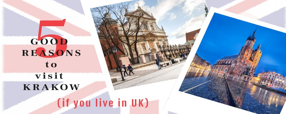 Visit Krakow from UK