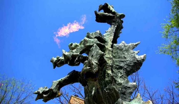 one-day-in-krakow-dragon