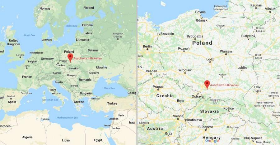 Auschwitz Birkenau Map Where is Auschwitz? Useful informations before your visit.