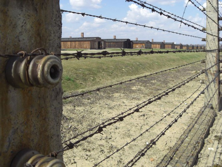 auschwitz-today-barracks-in-row