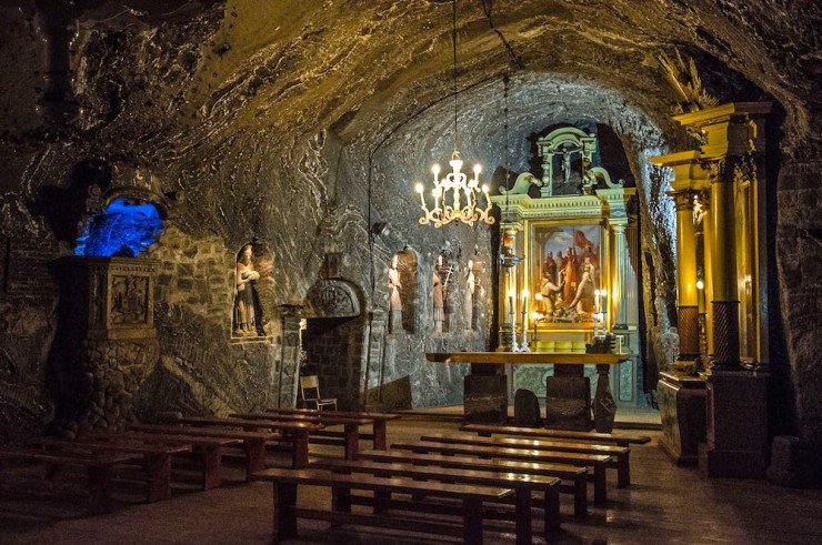 Bochnia Salt Mine alter