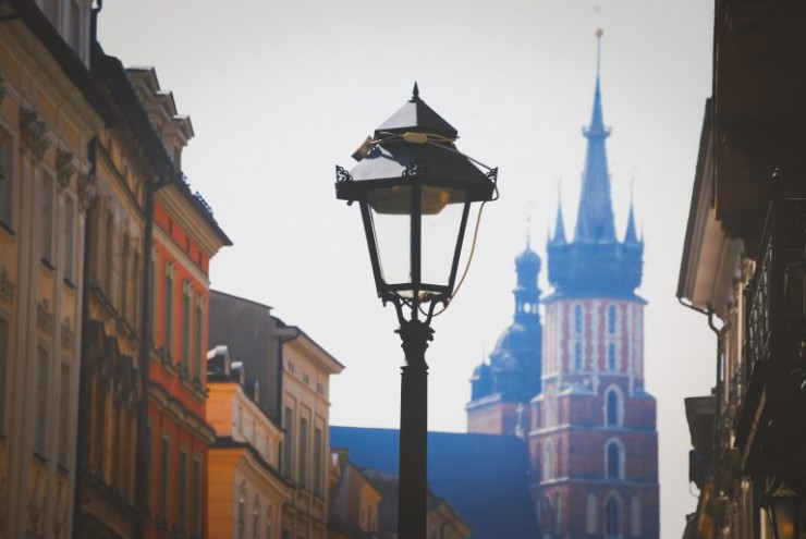 krakow-old-town-lamp