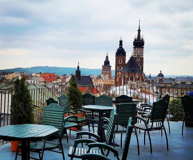 Places to relax Krakow