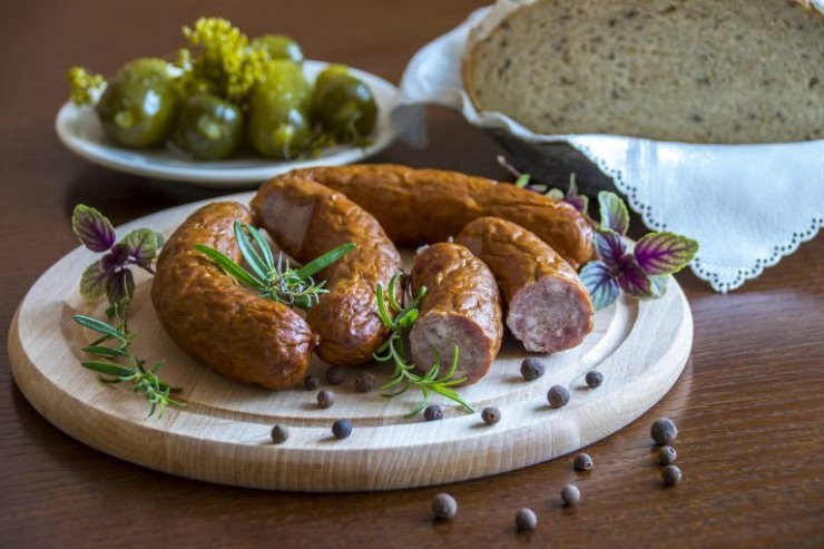 what-to-visit-in-krakow-sausage