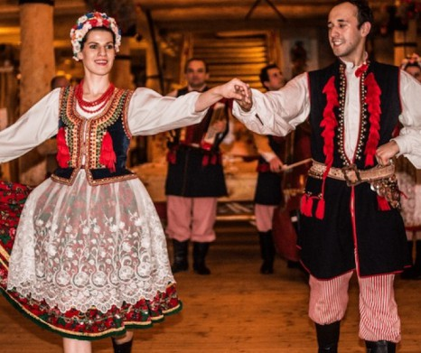 Polish Folk Show with Traditional Dinner