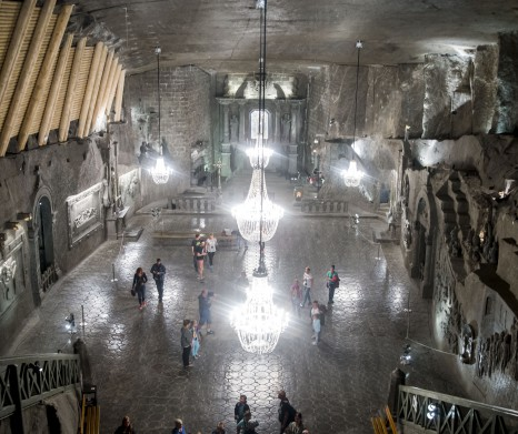 Wieliczka Salt Mine Tour from Krakow (transport with minibus)