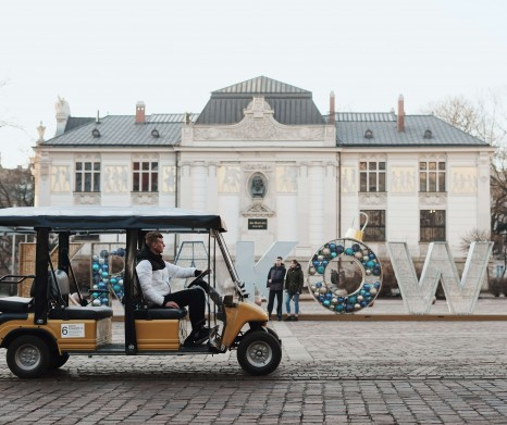 Krakow sightseeing by eco-vehicle - Small group