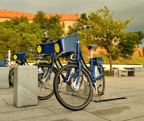 Rent-a-bike with Krakow Audioguide