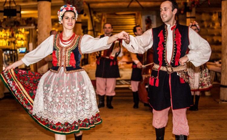 folk show Krakow